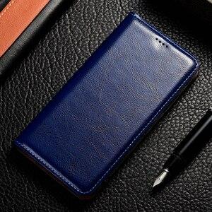 Image 5 - luxury Genuine Leather Case For Lenovo Vibe K3 K5 K6 Z5 A5 S5 Power K8 K10 Note Plus 2018 Play Pro Case Crazy Horse Flip Cover