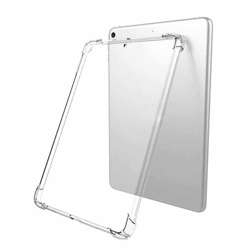 Drop Ship 2019 Nieuwste Voor Ipad 7th 10.2 Hybrid Rubber Case Tpu Siliconen Beschermende Clear Cover Hot Sales Hoge Kwaliteit #1018