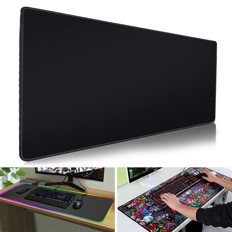 Mouse Pad Gaming Mouse Pad RGB Computer Large Mousepad XXL Mouse Pads Anime Gamer Mause Carpet 900x400 Desk Mat For CS Dota 2