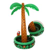 Inflatable Palm Tree Shape Cooler Ice Bucket Beverages Festival Activities Decoration Props Water Sports