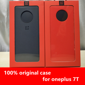 Image 3 - official case for oneplus 8 7 8t pro sandstone silicone carbon fiber official back cover