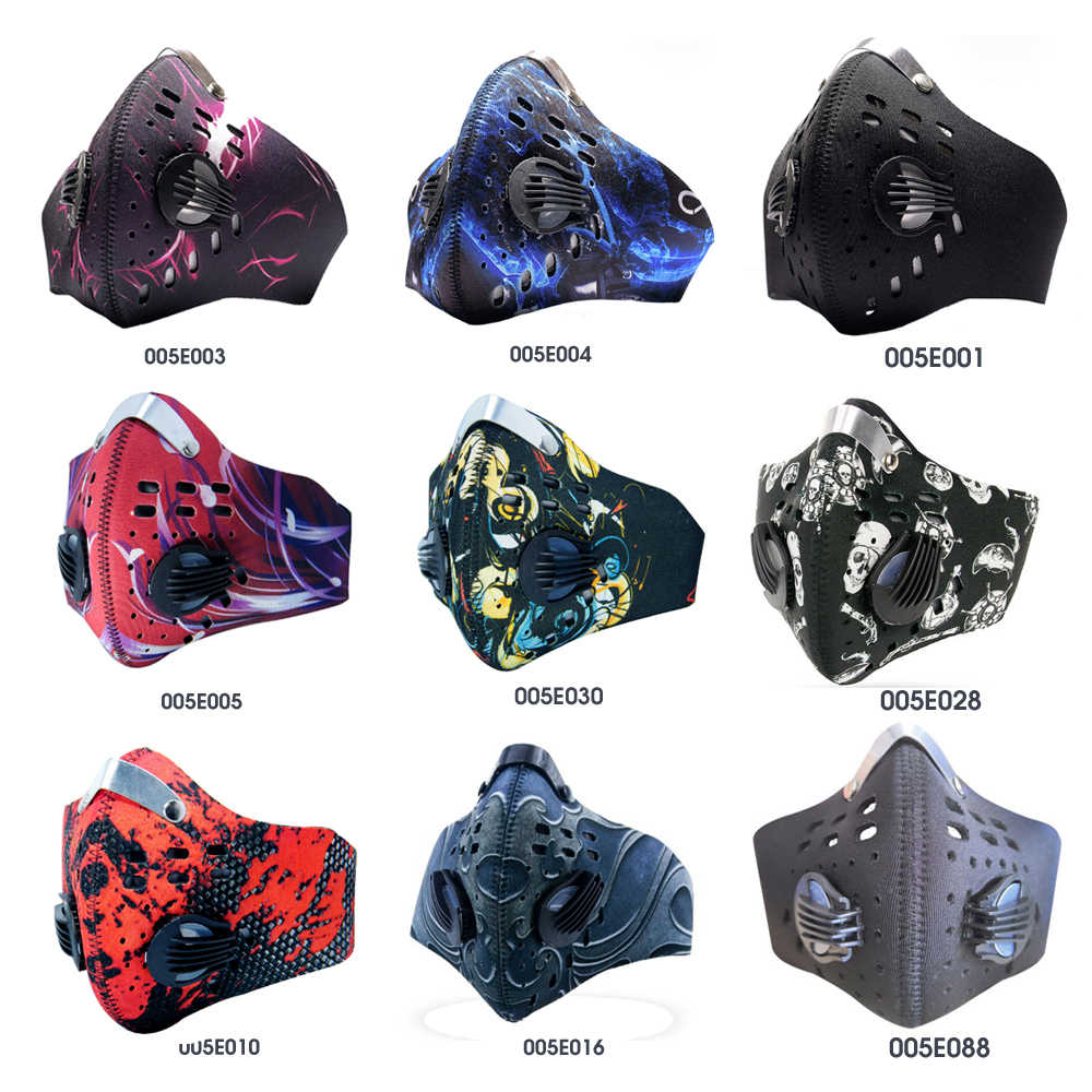 GLORSUN Пылезащитная маска n99 неопрен смог туман мотоцикл езда лицо рот анти n99 воздушный фильтр оптовая продажа анти запах smog распиратор от дыма