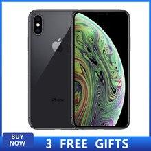 Gebruikt Unlocked Original Iphone Xs 64/256G 5.8-Inch Ram 4Gb Rom 64Gb/256gb Smartphone Telefoon Met Hexa-Core En Full Screen