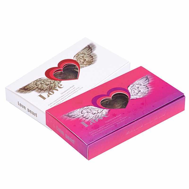 Femle Cadeau Exquis Perle Bijoux Coffret Cadeau De Saint Valentin Avec Collier Boucle D Oreille Aliexpress