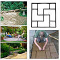 Pavimentazione Muffa Nera Pavimentazione Vialetto di Pietra Calcestruzzo 40*40 Robusto FAI DA TE Stepping Durevole di Cemento Muffa