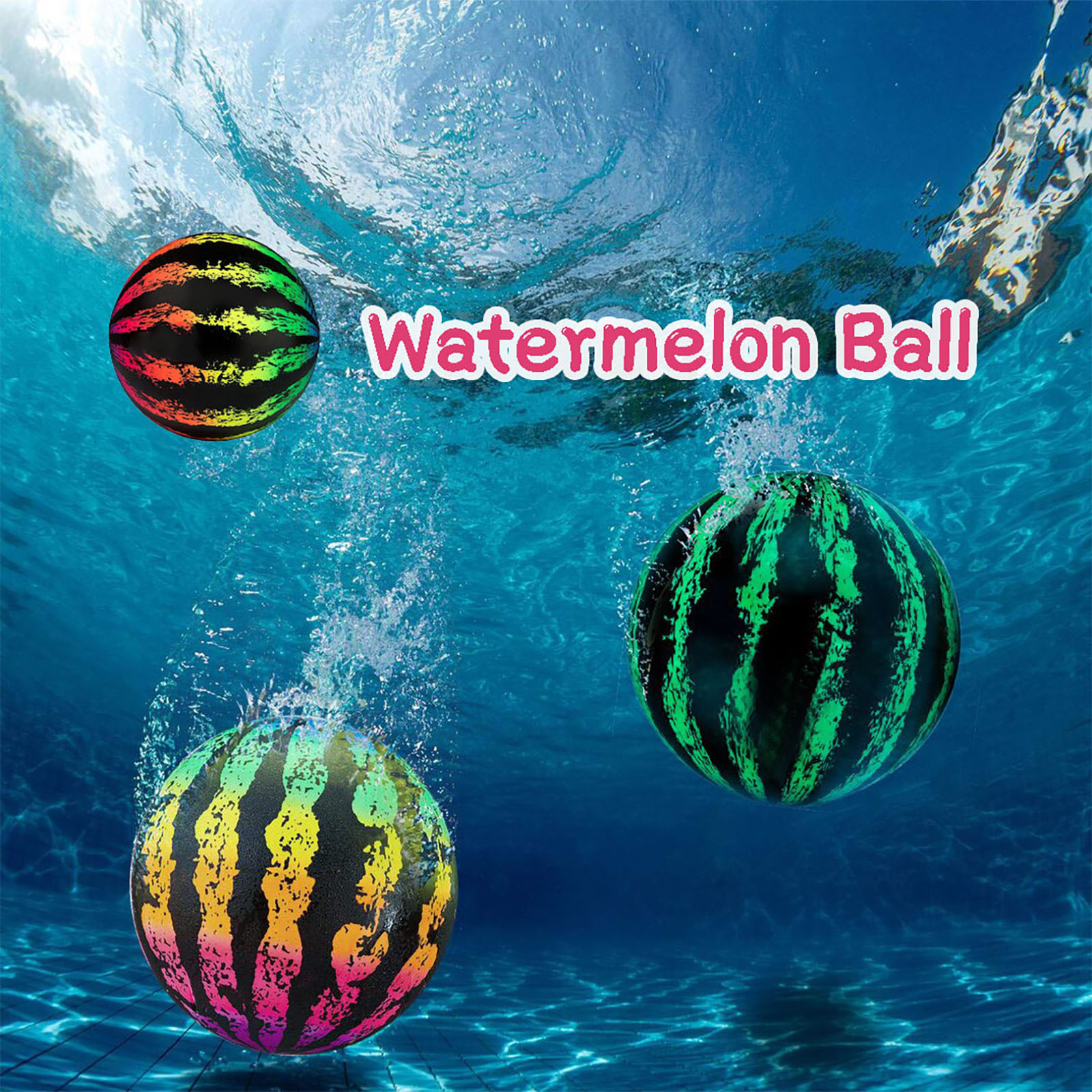 Water Balloons Funny Beach Swimming Pool Toys Watermelon Ball The Ultimate Swimming Pool Game For Underwater Passing Ball