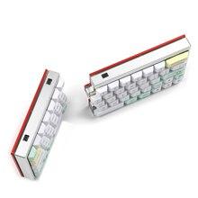 Ymdk Split 64 SP64 Cassa di Alluminio di Cnc Piastra Calda Presa Hot Swap Pcb Underglow Rgb Completamente Programmabile Kit Fai da Te