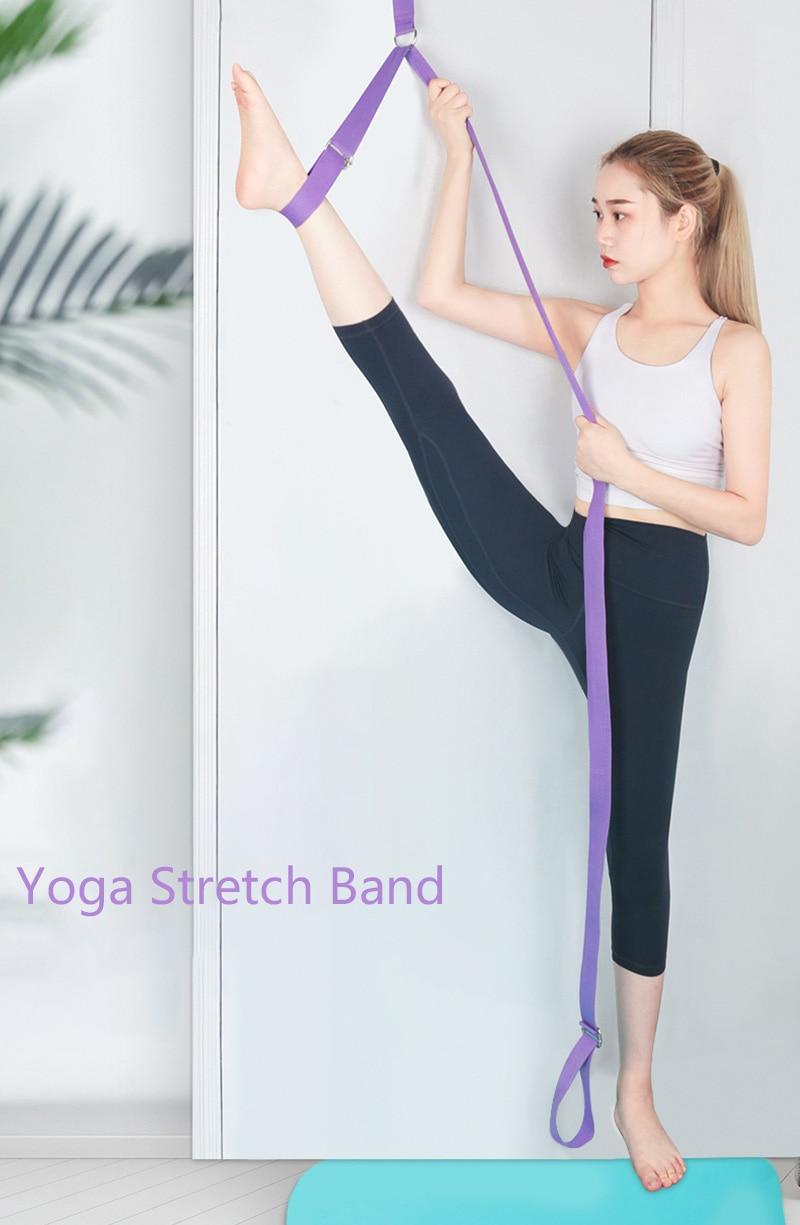 alongamento esportes yoga ballet banda exercício perna