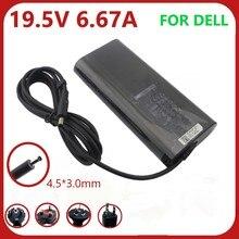 Оригинальный адаптер переменного тока для ноутбука Dell, 4,5*3,0 мм, 130 Вт, 19,5 в, 9530 А, точное зарядное устройство M3800 XPS 15 () DA130PM130 06TTY6