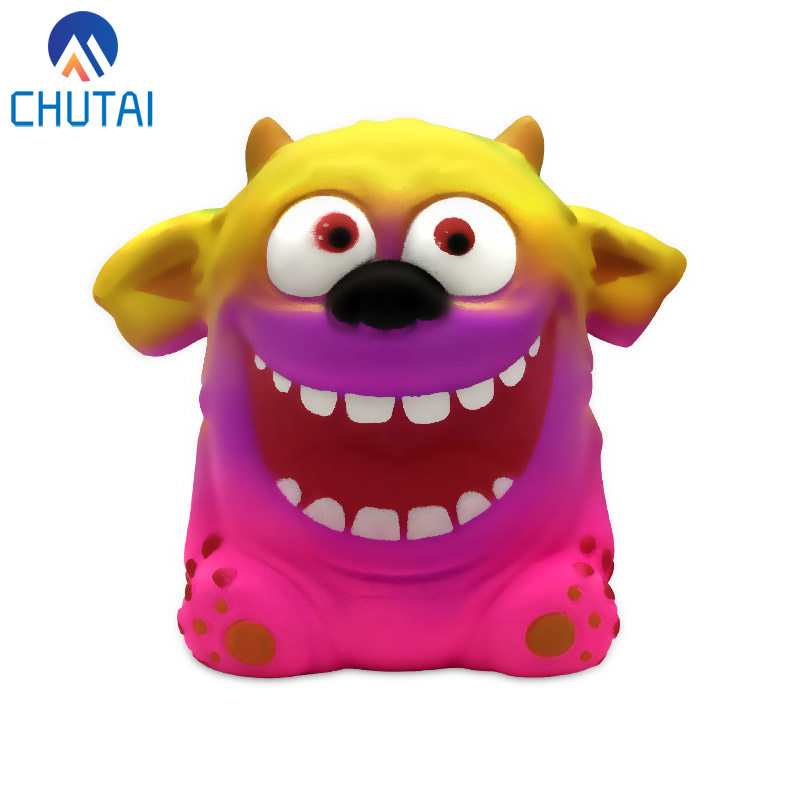 2019 Jumbo Kawaii Colorful Monster Squishy Doll Slow Rising Stress Relief Squeeze Toys For Baby Kids Xmas Gift 11.5x11x7 CM