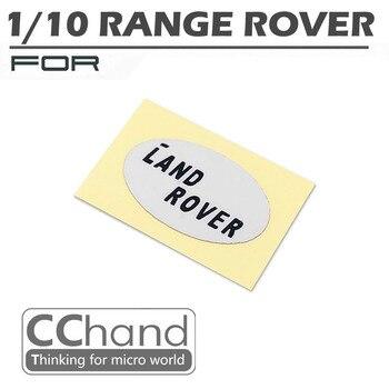 1/10 Range Rover logotipo piezas del coche del RC