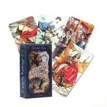 Cartas de Tarot de bruja para el día a día, juego de mesa de Taort,