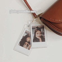 MINKYS New Arrival 10pcs/lot Kpop Photocards Protective Case Transparent Card Holder School Korean Stationery
