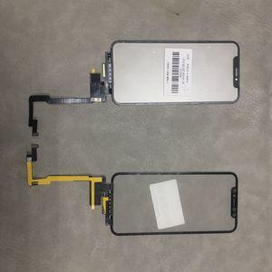 Image 3 - Черный сенсорный экран с удлинителем, гибкий кабель без пайки для iPhone X Xsmax 11pro Max, запасные части