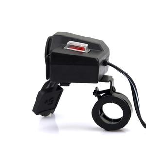 Image 5 - Encendedor de motocicleta 3 en 1, cargador de teléfono móvil para motocicleta, resistente al agua, USB Dual de carga rápida
