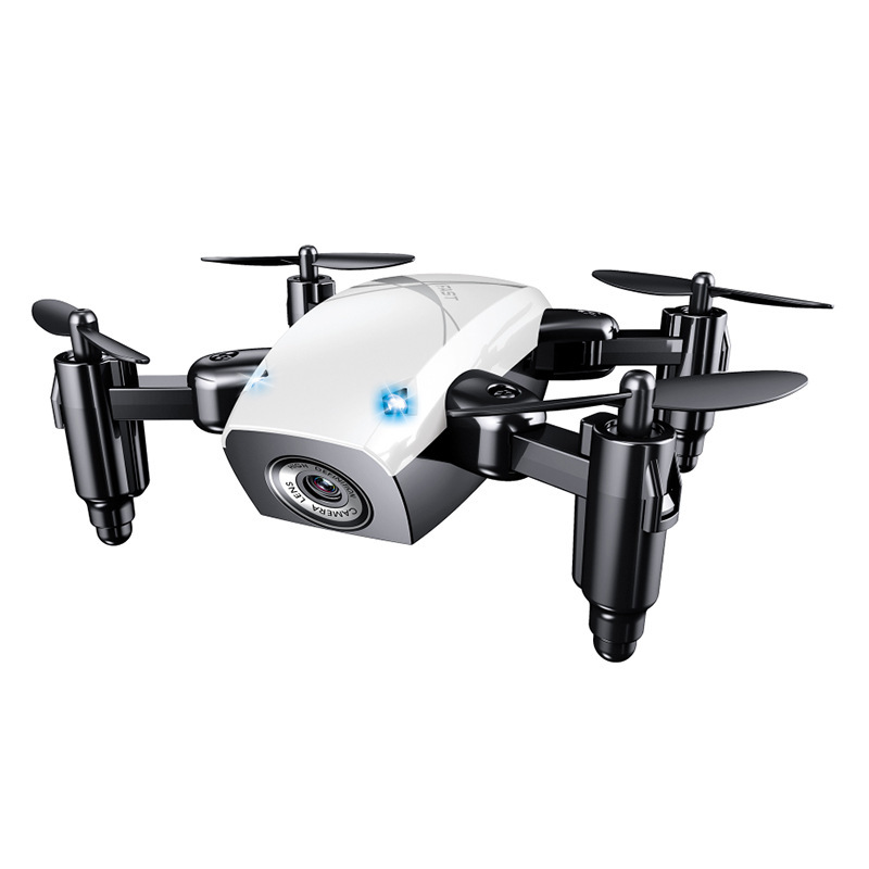 Mini Quadcopter WiFi Real-Time Transmission Set High Drone For Aerial Photography S9w Children Electric Remote Control Aircraft