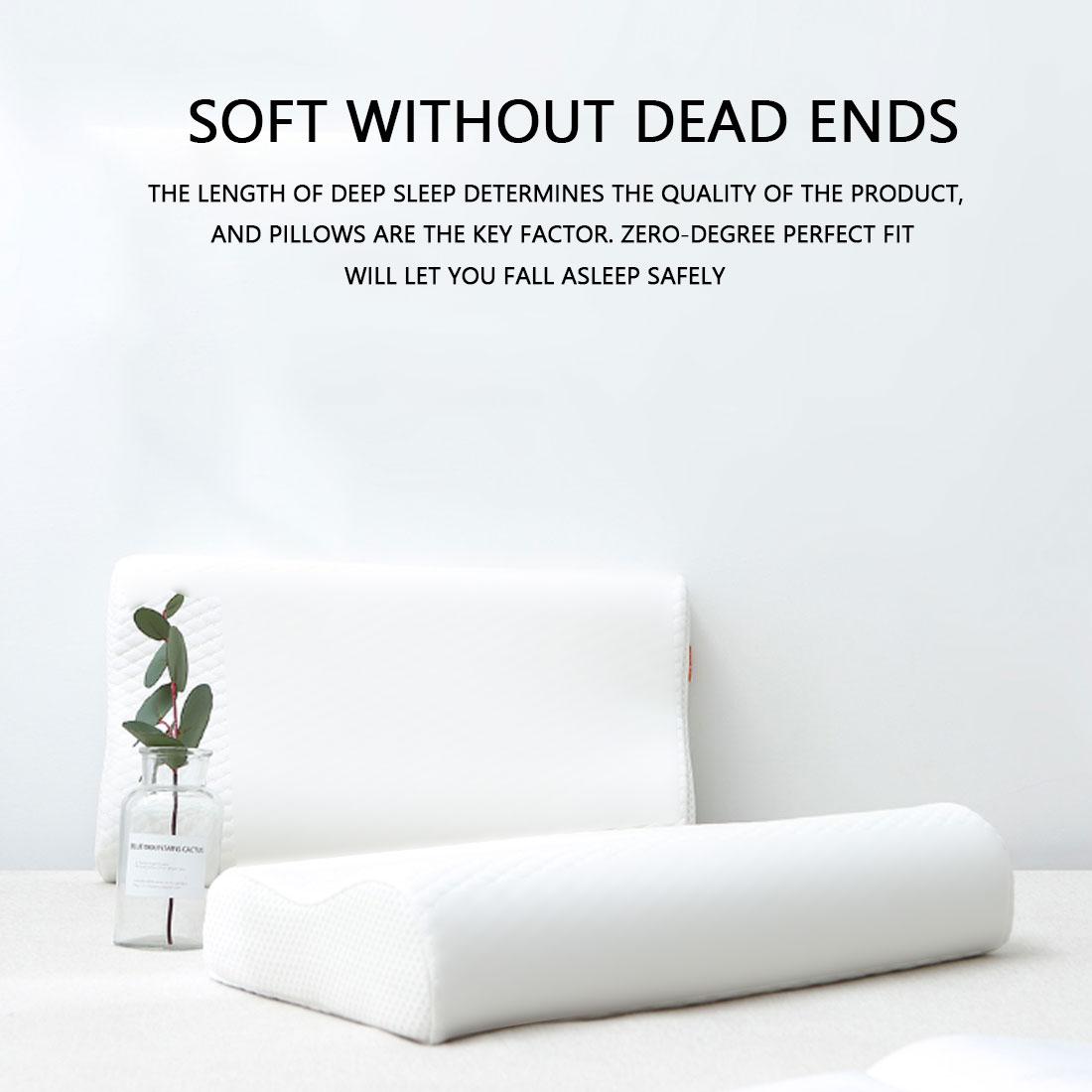 Sleeping Memory Foam Orthopedic Pillow 50*30cm/ 60*35cm Butterfly Shaped Memory Foam Bedding Pillows For Health Care