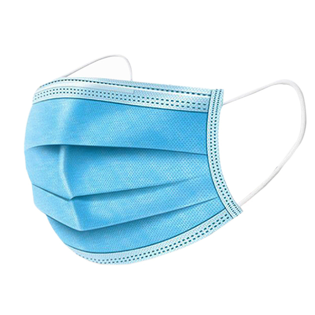 In stock! Fast Delivery! High Quality Non Woven Disposable Face Mask 3 Layers Anti-Dust Pollution Cap Mask Ear loop Mouth Masks 5