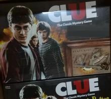 Harry CLUE-monopolo de mesa para niños, juguetes de alfarero, regalo de cumpleaños y Navidad