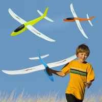 60 X 100 X 15.5cm Hand Throwing Airplane Diy Epp Foam Flexible Durable Hand Launch Throwing Aircraft Plane Model Outdoor Toy