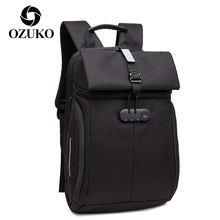 Повседневный Рюкзак ozuko для мужчин дорожная сумка ноутбука