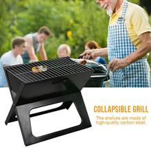 Foldable Barbecue Grills Burner Oven With Rack