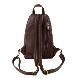 Image 4 - Vintage Soft PU Leather Backpack Women Purse Mini Lady Shoulder Bags Small Travel Casual School Crossbodys Bag for Female