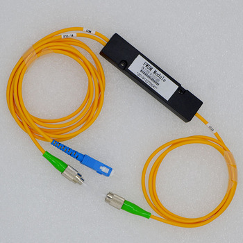 5pcs New Hot Sell FWDM Three Wavelength 1310/1490/1550nm Optical Fiber WDM 1:2 SC FC Connector  Special Wholesale Free Shipping