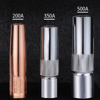 200a 350a 500a red copper gas welding nozzle cover gas welder nozzle protect cover 6size free shipping 350a 500a gas welding gun shunt connecting rod insulation cover bent pipe nozzle gas welding gun accessories welder gun parts
