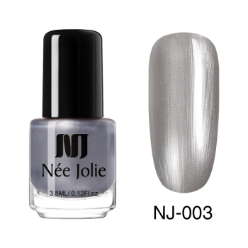 Coffee Gray Red Series Nail Art Polish Beauty & Skin Care Nail Art Color: 3.5ml Pearl 03