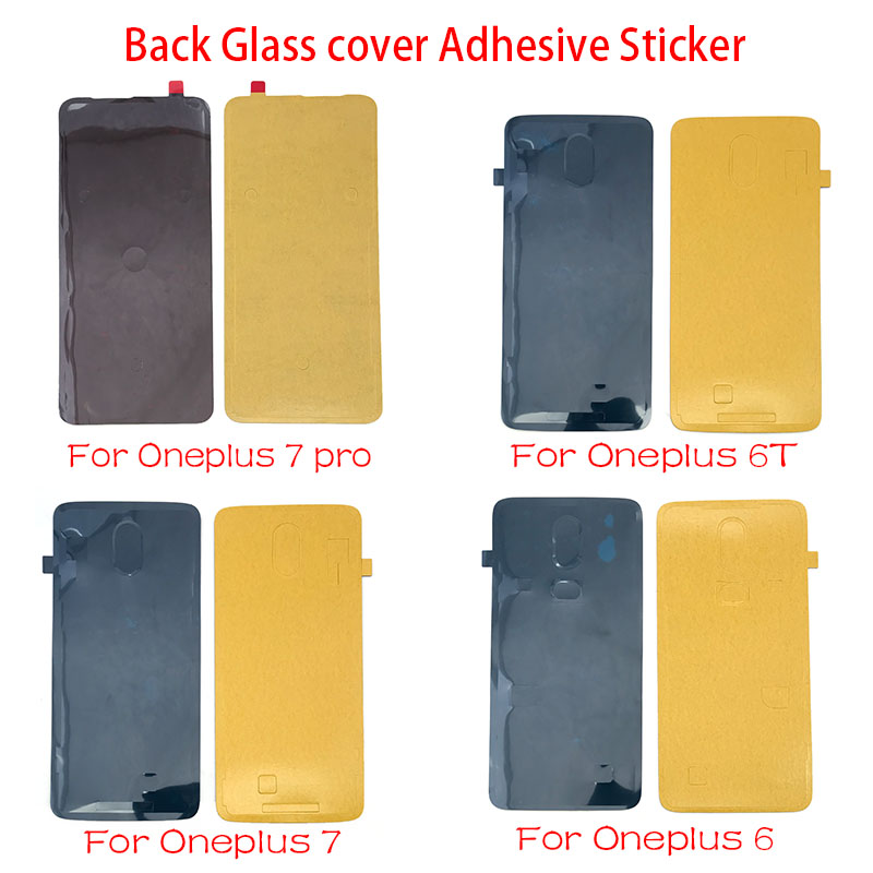 New Glue Back Battery Cover Waterproof Sticker Adhesive Glue For Oneplus 6 6T 7 Pro Replacement Parts
