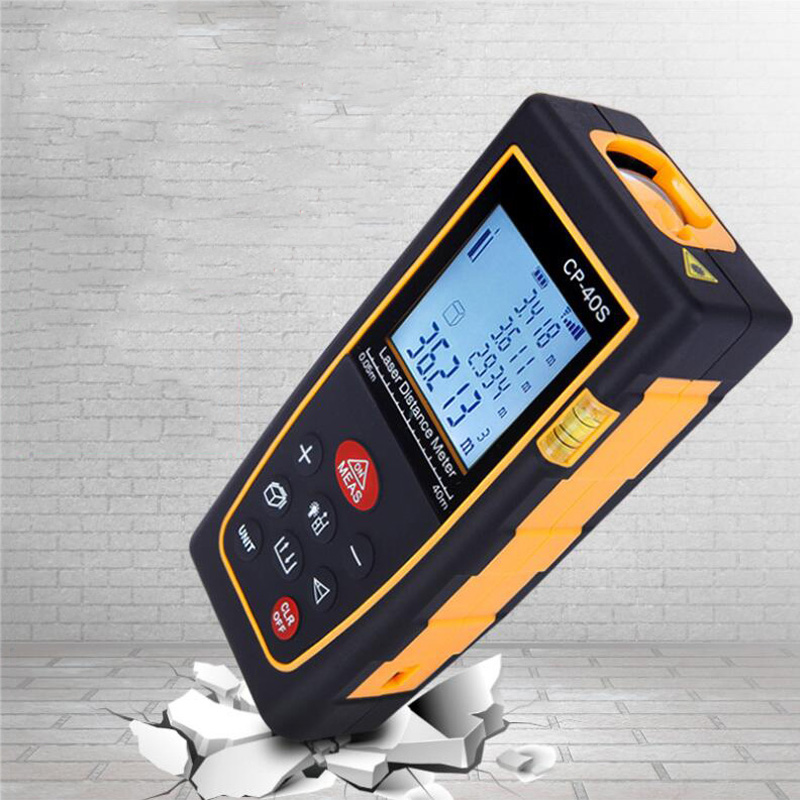 Digital Laser Range Finder 100M 120M 150M Handheld Range Finder Laser Tape Range Finder Built Measuring Device Ruler Test Tool in Laser Rangefinders from Tools
