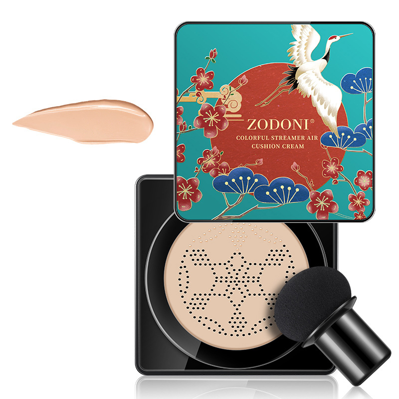 1Pc BB Cream Liquid Foundation Mushroom Cushion Moisturizing Concealer Isolation Brightening Beauty Cream Face Makeup TSLM1