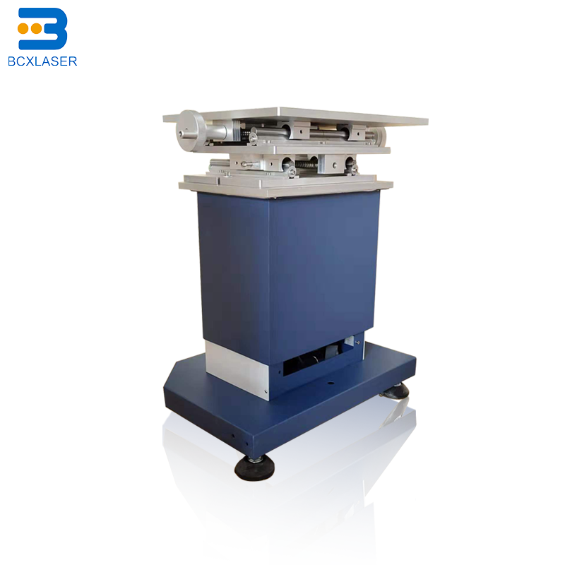 Large Area CCD Vision Positioning Laser Marking Machine Metal Plastic Accurate Automatic Positioning