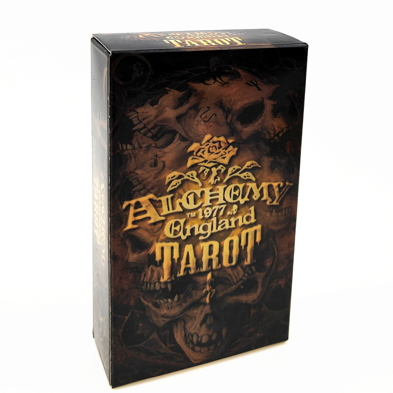 England Tarot Magical English Edition Board Game Mysterious Tarot Family Party Cards Game