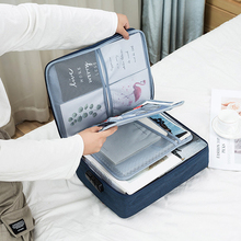 Document Ticket Tas Grote Capaciteit Certificaten Bestanden Organizer voor Home Reizen Belangrijke Items Map Opbergzakken Supply