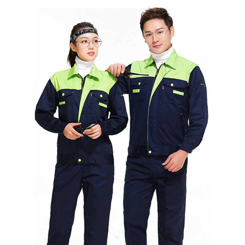Plus Size Men Women Overalls Autumn Polyester Long-sleeved Workshop Welding And Polishing Machinery Car Repair Work Clothes