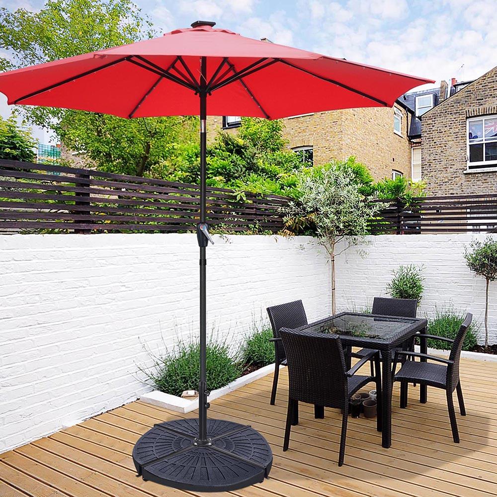 yestarry patio umbrella stand cross base outdoor offset umbrella metal frame