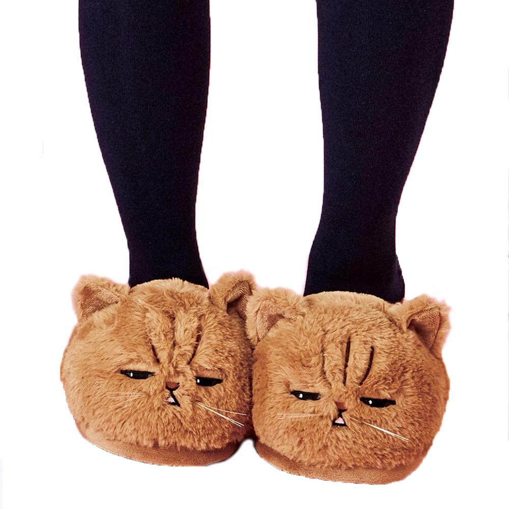 Cat Plush Slippers 3