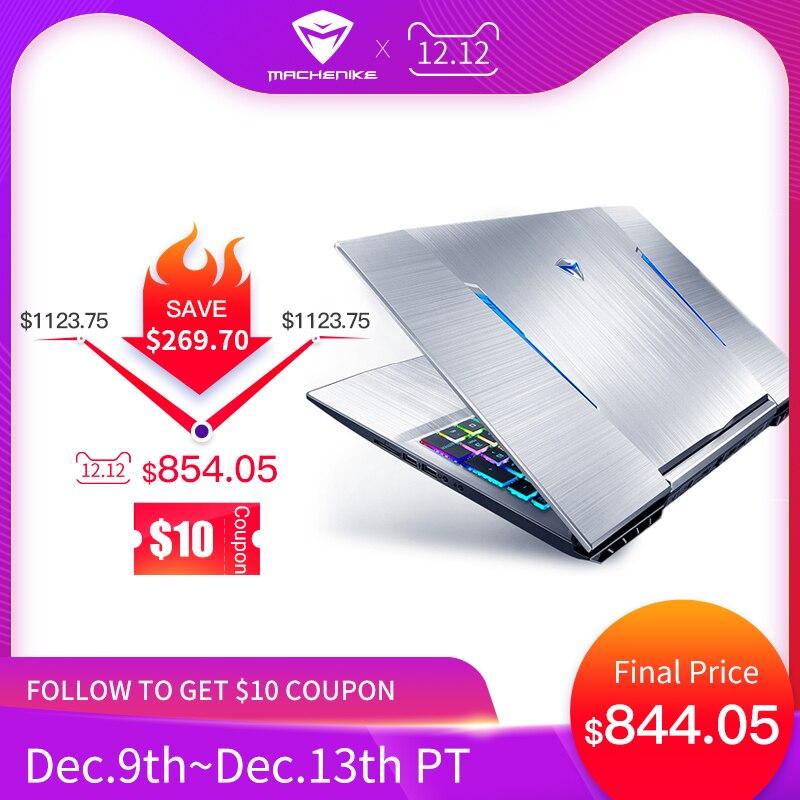 Machenike T90-TB1 i7 ordinateur portable de jeu 144Hz (Intel i7-9750H + GTX1650/8 GB RAM/15.6 '')