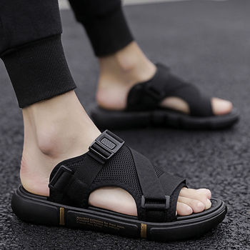 2020 New Stylish Men Sandals Trend Personality Summer Beach Outdoor Leisure Slippers Slides