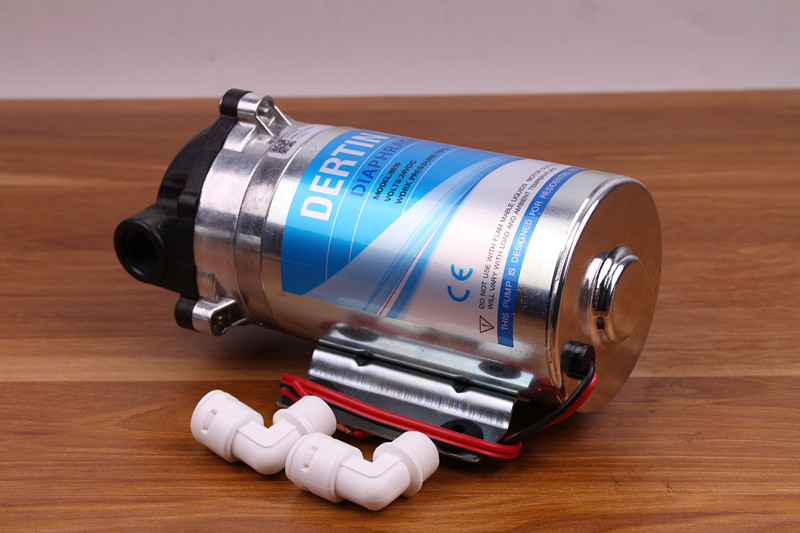 400gpd Diaphragm Pump 36V DC RO Booster Pump High Pressure Vacuum Water Filter Parts Reverse Osmosis System Increase Pressure