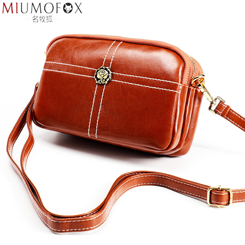 2020 New Designer Handbag Genuine Leather Women Shoulder Bags Ladies Small Crossbody Bags For Female Messenger Bag Party Zipper