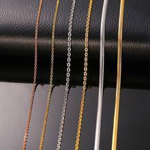 Vnox diy звено цепи ожерелье с застежками Омаров для женщин
