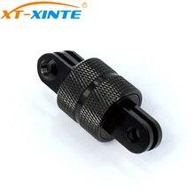 XT XINTE 360 graus de rotação conjunta conector suporte tripé montagem adaptador para gopro todos sjcam yi câmeras ação câmera esportes