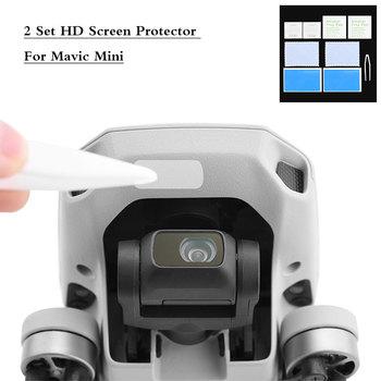 1/2 Set HD Screen Protector For Mavic Mini Anti-Scratch Tempered Glass Lens Film for DJI Mavic Mini Protective Accessories Kits