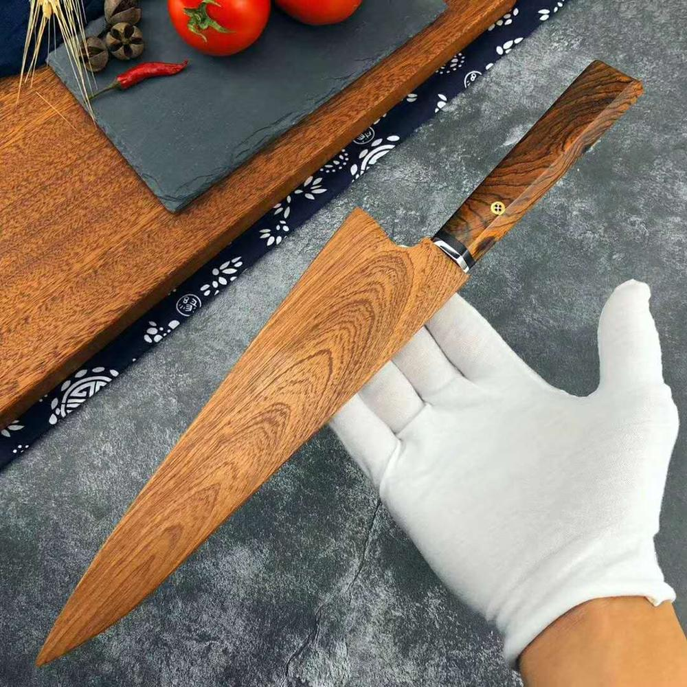 damascus chef knife vg10 damascus steel kichen knife tool japanese knife sharp cleaver knife Cooking knife set 5