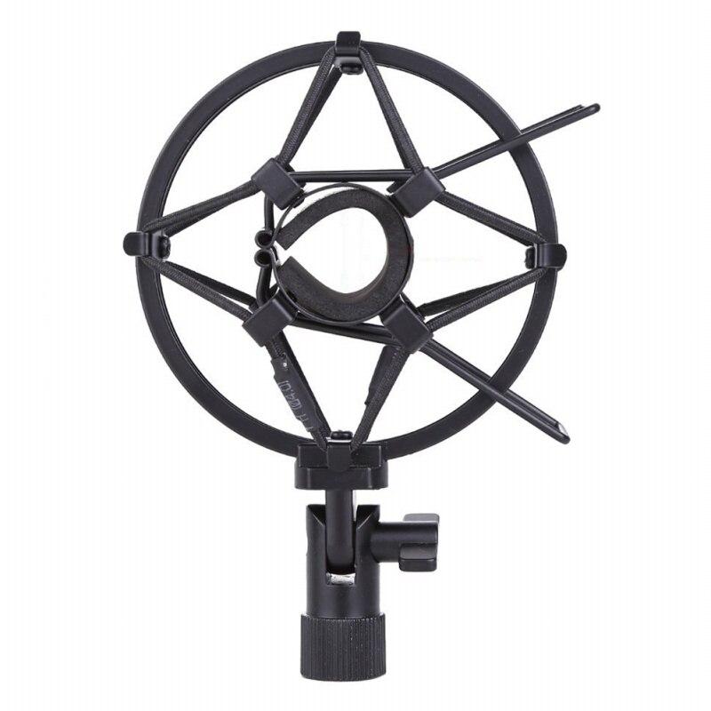 Купить металлический ударопрочный держатель для студийной записи микрофона