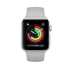 Apple Watch 1 3 Series1 Series3 reloj inteligente para hombres y mujeres rastreador GPS reloj inteligente Apple Band 38mm 42mm dispositivos inteligentes usables
