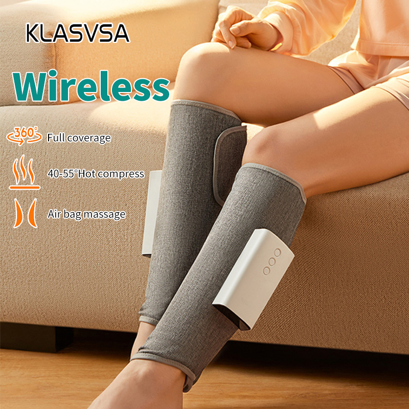 Wireless Air Compression Leg Massager Rechargeable Completely Wrapped Relieve Calf Muscle Fatigue Massage Relaxation|Leg Massage Apparatus| - AliExpress